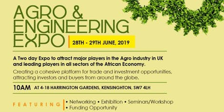 Agro & Engineering Expo tickets