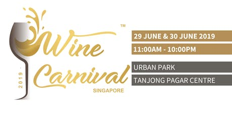 Wine Carnival Singapore - 2019 tickets