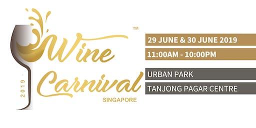 Wine Carnival Singapore - 2019