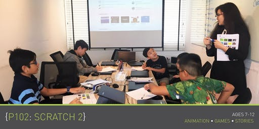Coding for Kids - P102: Scratch 2 Course (Ages 7-12) @ Parkway Parade