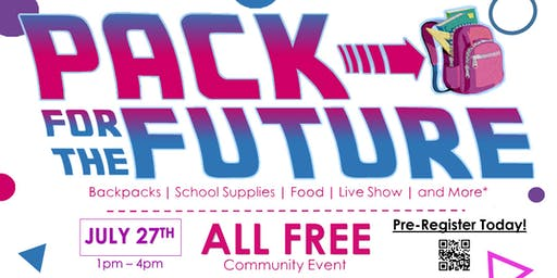 Pack For The Future: School Supply Community Event