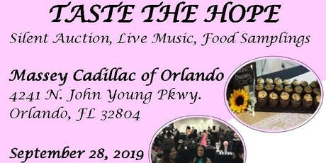 TASTE THE HOPE tickets