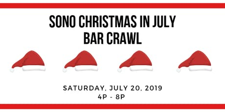 SoNo Christmas in July Bar Crawl & Photo Scavenger Hunt tickets