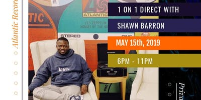 1on1 Direct with Shawn Barron VP of Atlantic Records
