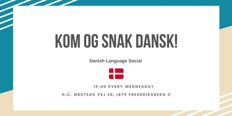 Danish Language Social  tickets