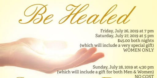 """Be Healed"" Bold & BeYOUtiful 3rd Annual Women's Conference"