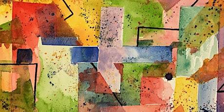 Watercolour Workshop: Abstract Geometric Style - Toronto Art Workshop tickets