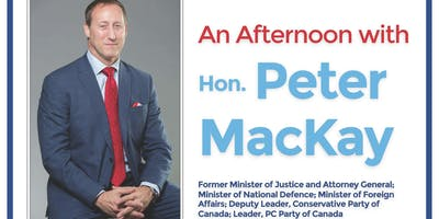 An Afternoon with Peter MacKay