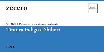 WORKSHOP / Tintura Indigo e Shibori