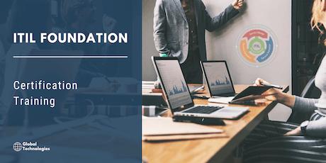 ITIL Foundation Certification Training in San Luis Obispo, CA tickets
