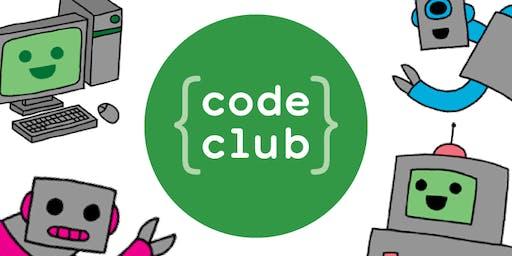 Hucclecote Library Code Club (Summer 2019)