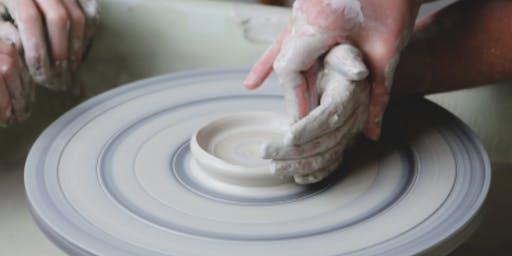 Ceramics on the Wheel with Amanda Cotton (located at Trinity Buoy Wharf)