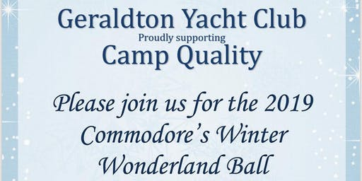 2019 GYC Commodore's Ball supporting Camp Quality