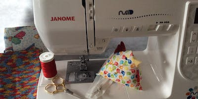 Getting to grips your Sewing Machine with Tricia Ablett