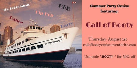 2019 Call of Booty Party Cruise: 50% off today with code 'Booty' tickets