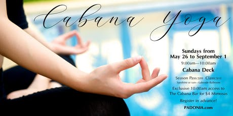 PADONIA Cabana Yoga  tickets