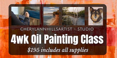 May Oil Painting Class - Saturday Afternoon