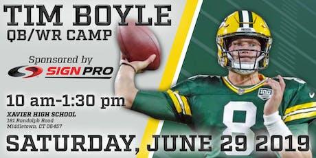 Tim Boyle QB - WR 1 Day Camp entradas