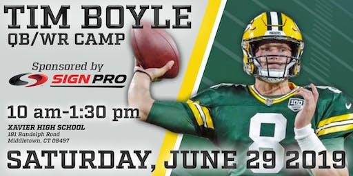 Tim Boyle QB - WR 1 Day Camp
