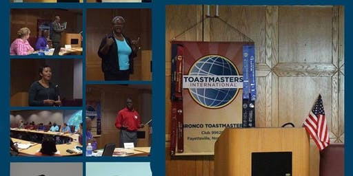 Bronco Toastmaster Club Meetings