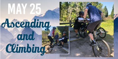 (5 SPOTS LEFT) AJ'S MOUNTAINBIKE SKILLS CLINIC : ASCENDING & CLIMBING