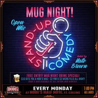 Mug Night: Stand-Up Comedy