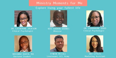 Ministry Moments for Me tickets