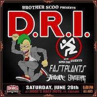 D.R.I w/ Fastplants, Triton, Sinister Pig