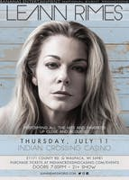 LeAnn Rimes at The Indian Crossing Casino