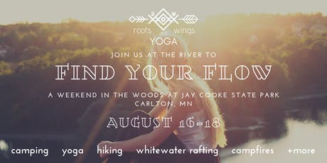 Find Your Flow: A Yoga Weekend in the Woods tickets