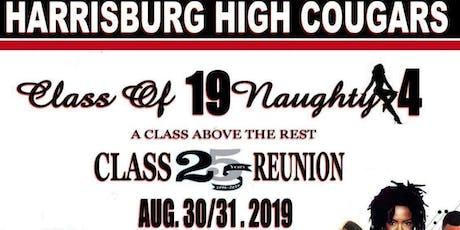 19NauhtyFour 25th Class Reunion tickets