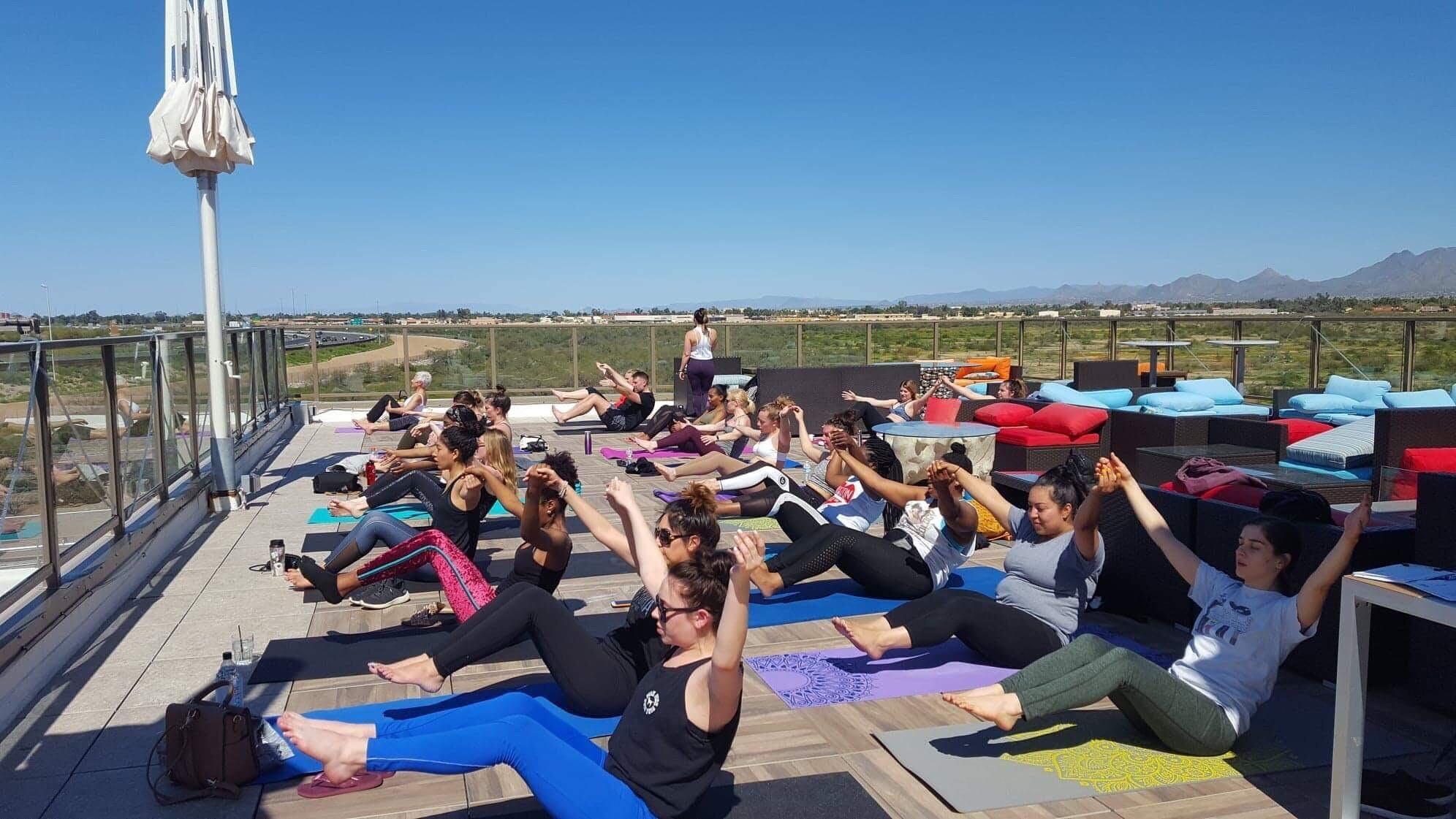 Rooftop Yoga + Brunch
