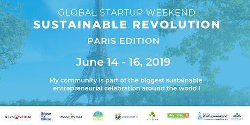 Startup Weekend Sustainable Revolution Paris edition