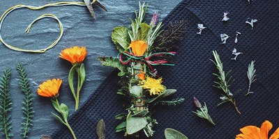 Herbal Workshop: Incense Making + Herbs for Well Being