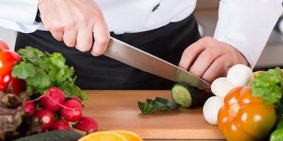 Chop It Like It's Hot Beginner Knife Skills Cooking Class