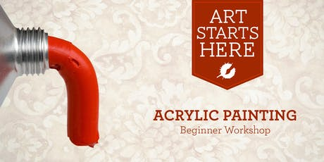 Acrylic Painting for Beginners 2019 tickets