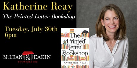 Katherine Reay Author Event tickets