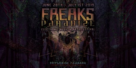Freaks Paradize - Dark electronic music Festival tickets