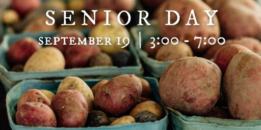 Senior Day at the Market 2019