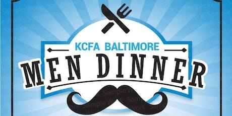 KCFA BALTIMORE MEN DINNER tickets