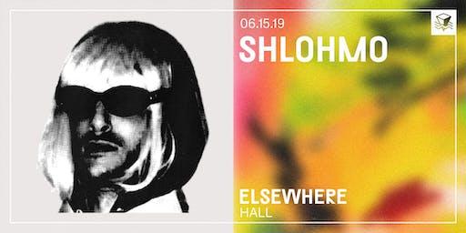 Shlohmo @ Elsewhere (Hall)