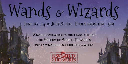 Wands & Wizards Day Camps 2019