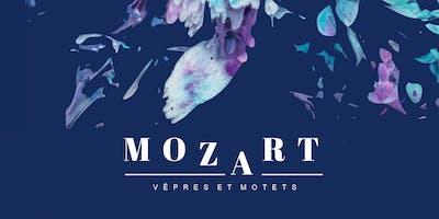 MOZART - Vêpres et Motets