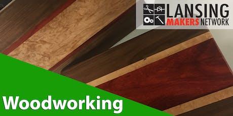 Taste of Woodworking - Long Grain Cutting Board tickets