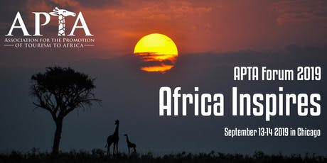 APTA Forum 2019: Africa Inspires tickets