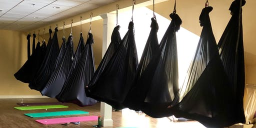 YOGA THERAPY: Therapeutic Silks Yoga  for Yoga Teacher Certification - Trauma Informed