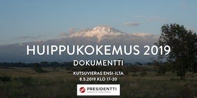 Huippukokemus 2019 dokumentin ensi-ilta - Sokos Hotel Presidentti 8.5.2019 klo 17.00