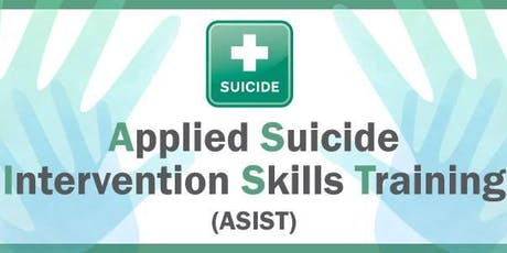 ASIST (Applied Suicide Intervention Skills Training) tickets