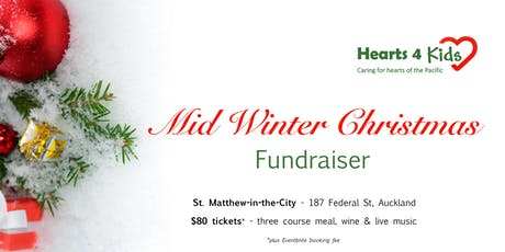 Hearts4Kids - Mid-Winter Christmas Fundraising Dinner tickets