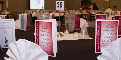 2019 California Social Work Hall of Distinction Induction Ceremony